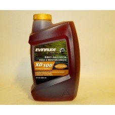 EVINRUDE E-TEC BRP XD100 SYNTHETIC FORMULA, 946 ml.